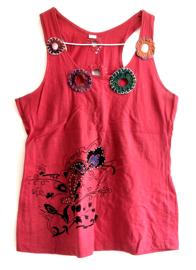 Tank Tops Red