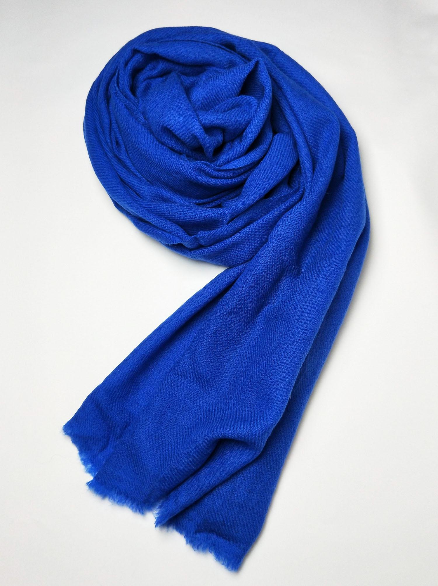 Cashmere Pashmina Shawl- Blue