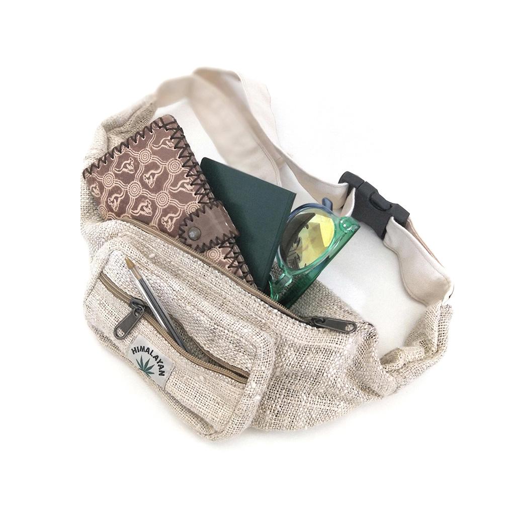 Hemp Bum Bag | Travel bag | Vegan